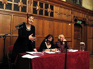 Caroline Lucas - Lucas speaking in Oxford about the Green New Deal, in 2009