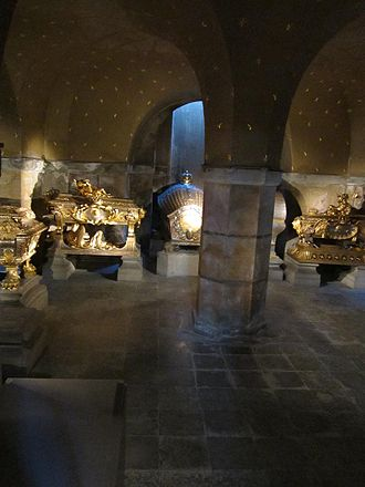 History of Sweden - This family crypt and the chapel above it in highly ornate coffins house the remains of all four of the Wittelsbach Dynasty monarchs of Sweden whose high-powered period (1654–1720) has been called the Caroline Era for Kings Carl X Gustav, Carl XI and Carl XII.