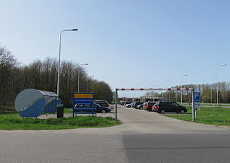 Carpool - Carpool pick-up place in the Netherlands