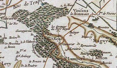 Port-Royal-des-Champs : vingt-cinq religieuses meurent d'épuisement dans AUX SIECLES DERNIERS