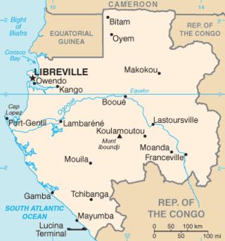 1964 Gabon coup d'état