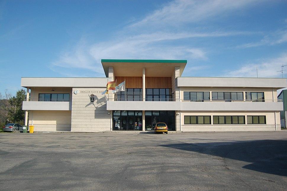 Casa consistorial de Pazos de Borbén
