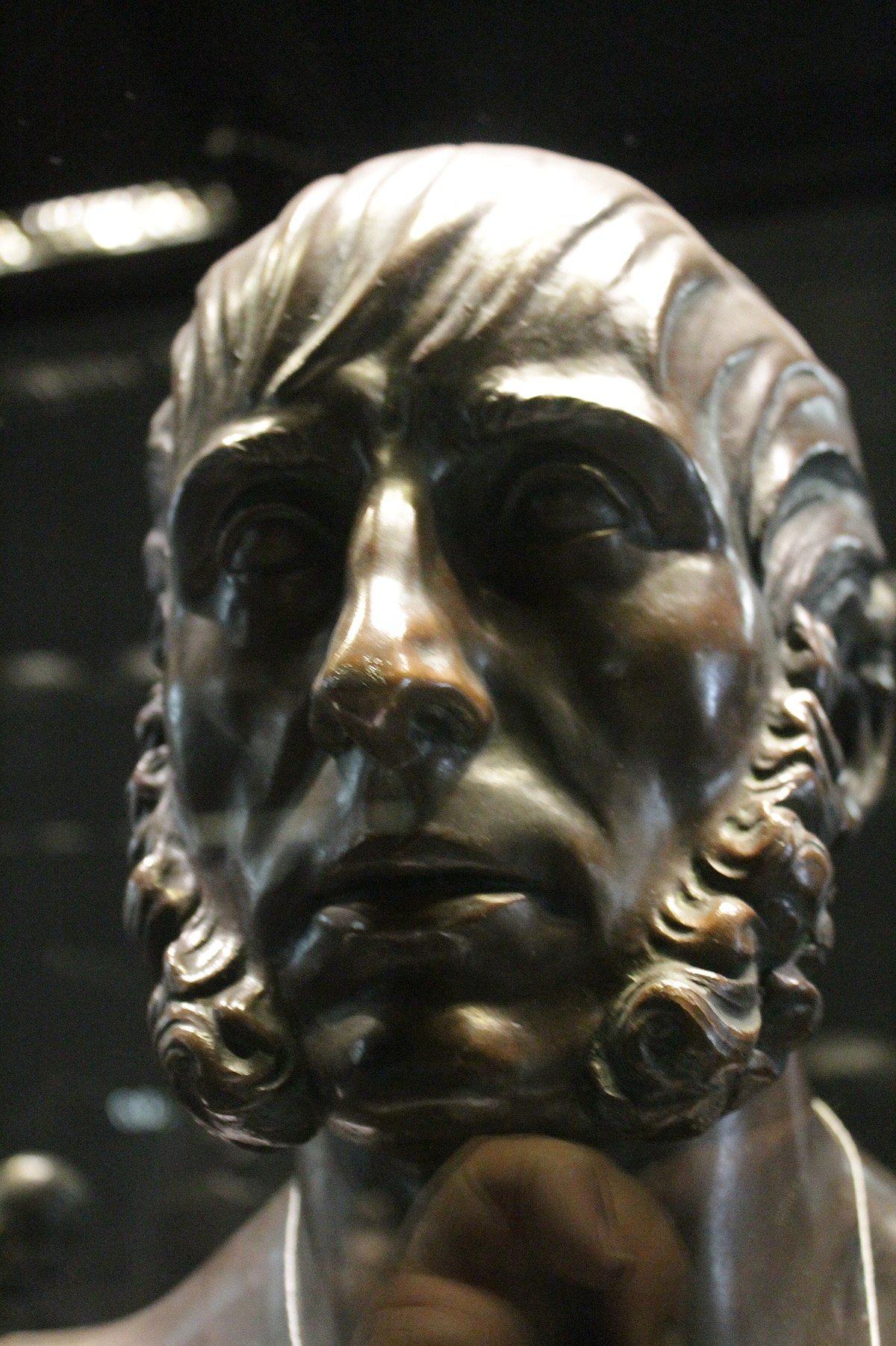File:Caspar David Friedrich by Christian Gottlieb Kuhn ...