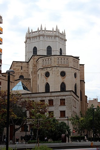 Castelló Cathedral - Cloister of the cathedral