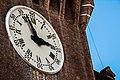 Castello estense esterno orologio.jpg