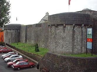 Athlone Castle - Image: Castelo de Athlone Irlanda
