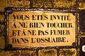 Catacombs of Paris, 16 August 2013 008.jpg