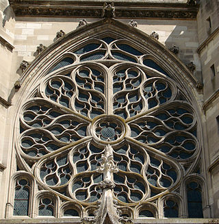 Flamboyant Meaux Cathedral France