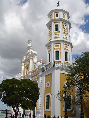 Cathedral of Ciudad Bolivar - west to east view