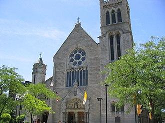 Roman Catholic Diocese of Syracuse - Image: Catherdalsyr