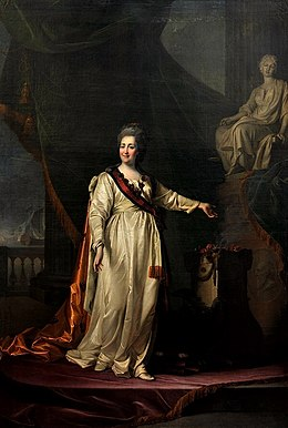 Populair Catharina II van Rusland - Wikipedia @UW14