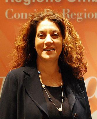 Catiuscia Marini - Image: Catiuscia Marini (cropped)