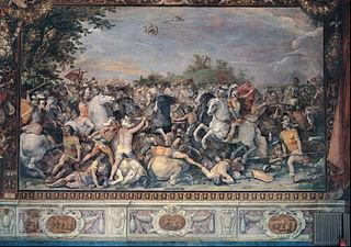 Battle against the inhabitants of Veii and Fidenae