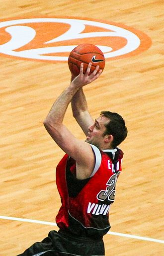 Chuck Eidson - Chuck Eidson during a game against Efes Pilsen in 2007.