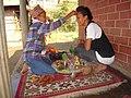 Celebrating nepali festival tihar.jpg