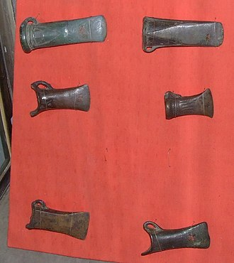 Celts in Transylvania - Celtic socketed axes and tools from the Bronze Age in Transylvania, Romania