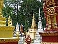 Cemetery at Wat Maha Leap Temple - Near Kampong Cham - Cambodia - 03 (48362805267).jpg