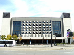 "Manitoba Opera - The ""Centennial Concert Hall"", as part of the Manitoba Centennial Centre is the performing home of the Winnipeg Symphony Orchestra, the Manitoba Opera and the Royal Winnipeg Ballet"
