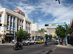 Central Ave and 5th St, Albuquerque NM.jpg