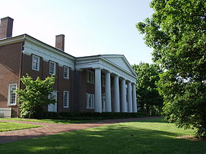Centre College - Completed in 1820, Old Centre is the oldest continuously operated academic building west of the Alleghenies.