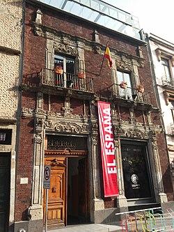 Centro cultural de espa a en m xico wikipedia la - Centro historico de madrid ...