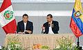 Ceremonia de suscripción de Declaración Conjunta Perú - Ecuador (10869988555).jpg