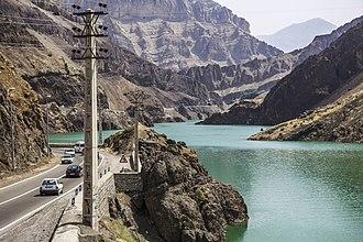 Road 59 (Iran) - Image: Chalus road ninara 01