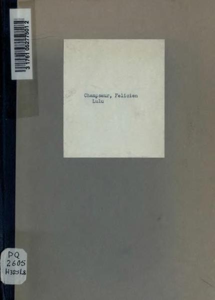 File:Champsaur - Lulu, pantomime en un acte, 1888.djvu