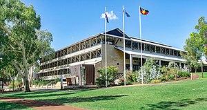 Murdoch University - Image: Chancellery Building