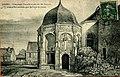 Chapelle des Ferrand de Joigny - carte postale ancienne timbrée.jpg