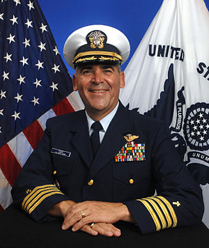 Chaplain of the United States Coast Guard - Image: Chaplain Gregory N. Todd