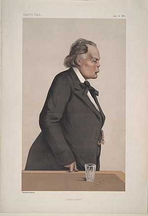 Charles Bradlaugh - Bradlaugh by Spy in Vanity Fair, 1887