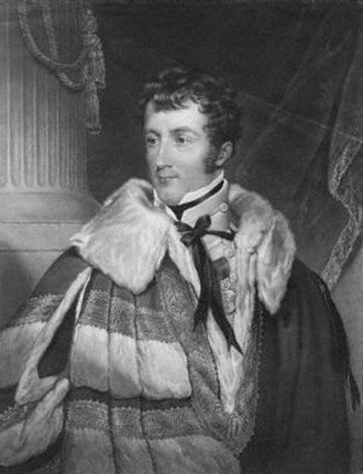 Charles Gordon-Lennox, 5th Duke of Richmond - The Duke of Richmond, 1824.
