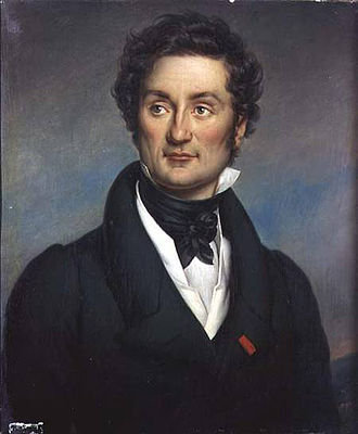 Jean-Baptiste Paulin Guérin - Portrait of Charles Nodier (1844)