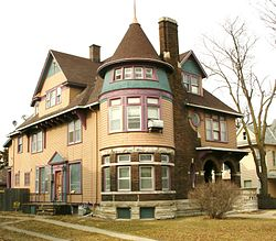 Charles W and Nellie Perkins House Cedar Rapids IA pic2.JPG