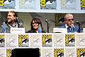 Charlie Hunnam, Katey Sagal & Ron Perlman (9363302261).jpg