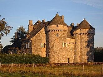 Ally, Cantal - Château of La Vigne