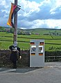 Checkpoint Charlie - Hayfield - geograph.org.uk - 433489.jpg