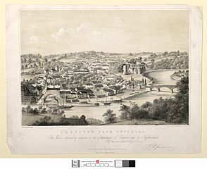 Chepstow, from Tutshill