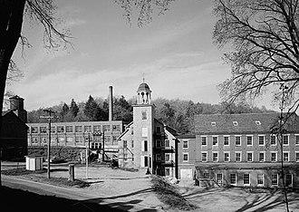 Harrisville Historic District (Harrisville, New Hampshire) - Cheshire Mills, 1969
