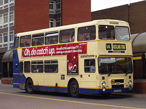 Leyland Olympian - ChesterBus Northern Counties bodied Olympian in Chester in June 2007