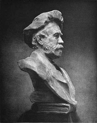 Chester Beach - Image: Chester Beach Bust of Theodore Low De Vinne