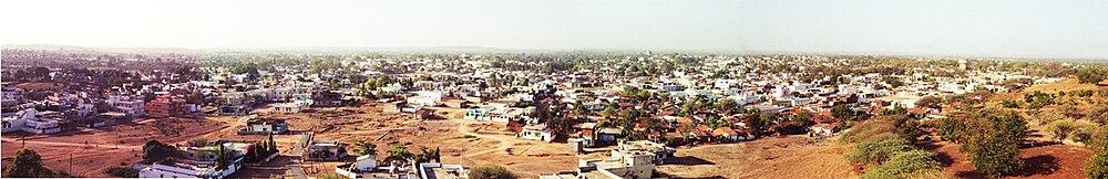 Panaroma of Chhindwara city