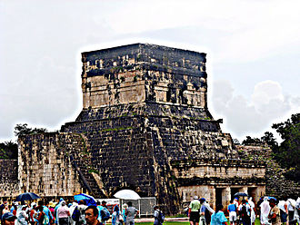 Mesoamerican architecture - Chichen Itza, Great Ball Court,Temple of the Jaguars