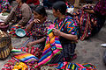 Chichi Market - Women Selling Fabric (3679332680).jpg