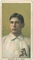 Chief Bender, Philadelphia Athletics, baseball card portrait LCCN2008676834.tif