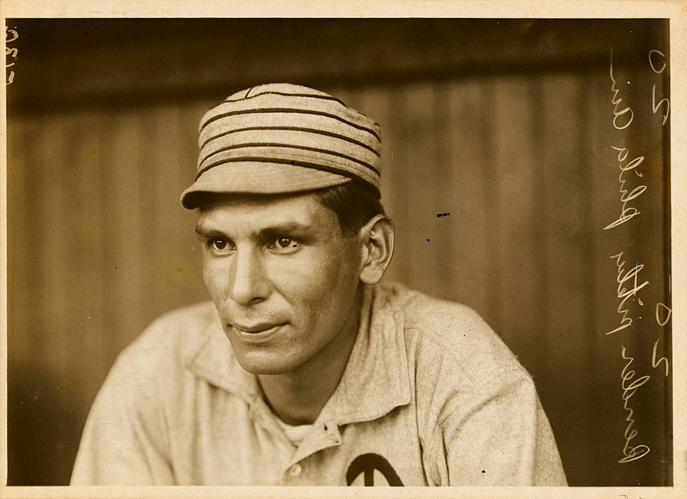 Chief Bender, Philadelphia Athletics pitcher, by Paul Thompson, 1911
