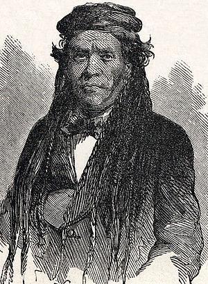 Irataba - Artist's impression of Irataba, February 1864