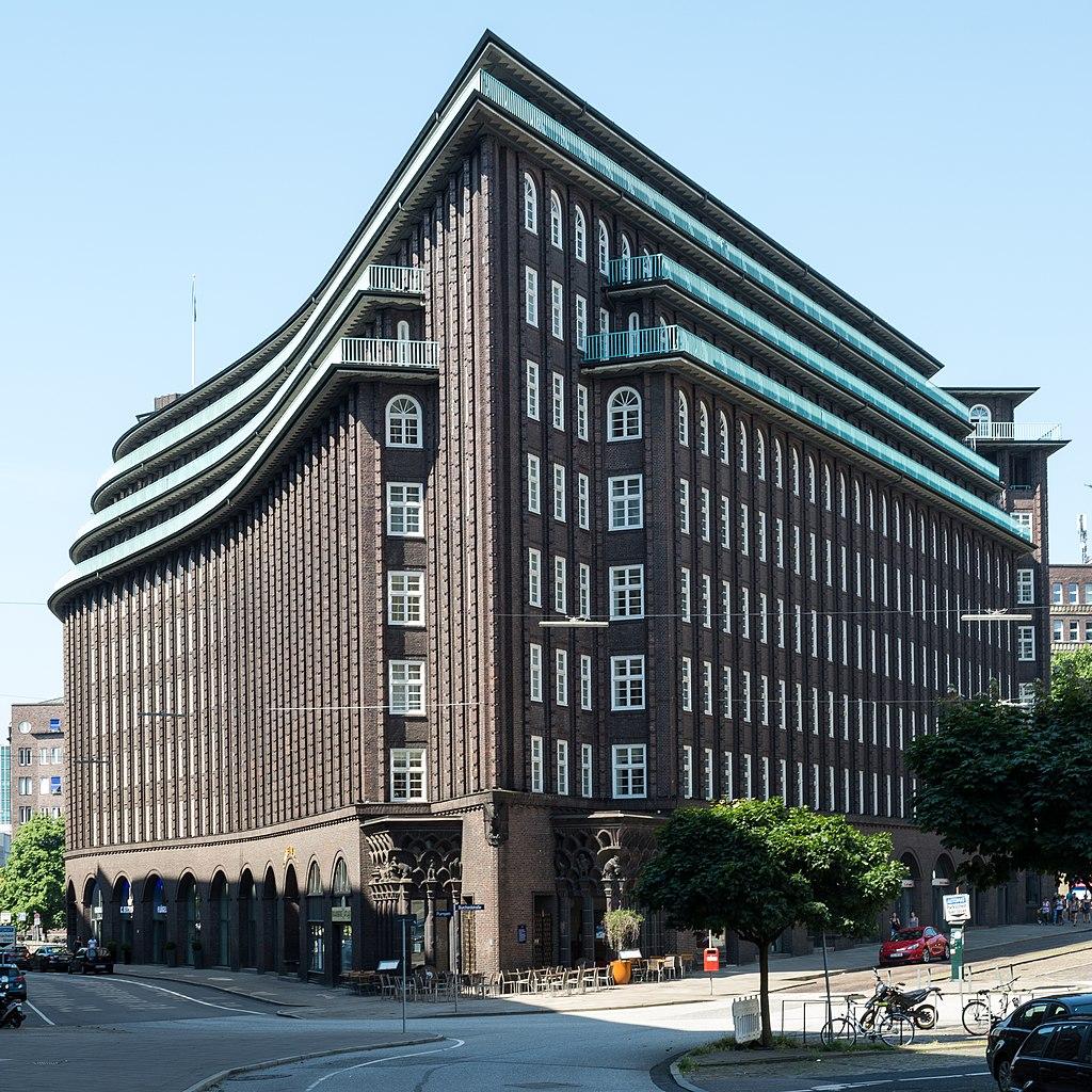 Chilehaus (Hamburg-Altstadt).Blick von Osten.3.29132.ajb