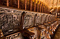 Choir stall of Cathedral of Toledo 05.jpg